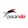 Logo and Visual Identity for Security Company Oskando